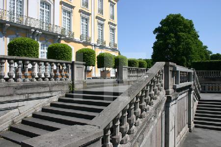 Treppen am Schloß Augustusburg in Brühl
