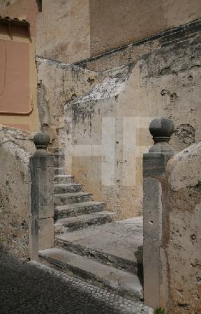 Treppe in Artà, Mallorca