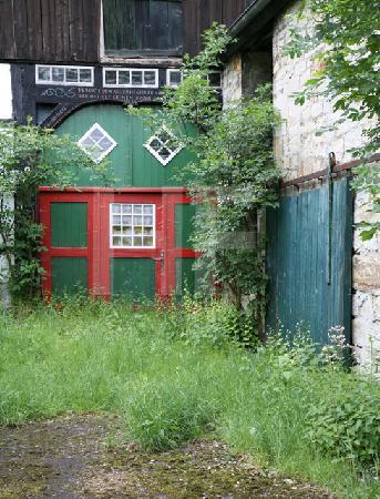 Altes Scheunentor in Wevelsburg