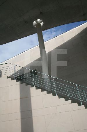 Treppe am Bonner Kunstmuseum