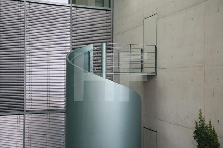 Wendeltreppe am Bonner Kunstmuseum