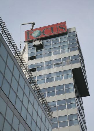 Focus-Redaktionshaus im Medienhafen in Düsseldorf