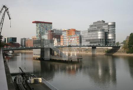 Medienhafen in Düsseldorf (2)