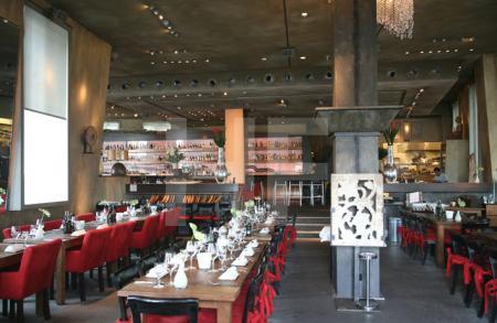 Restaurant im Medienhafen in Düsseldorf