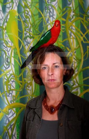 N.M. mit Coco www.malmede-kunst.de