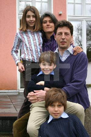 Familie S. im Garten