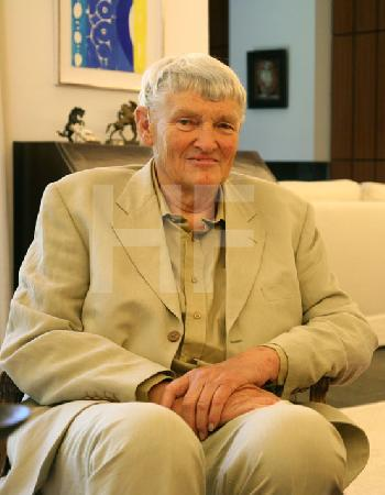 Paul Suter bei einem Besuch in Köln, 2006