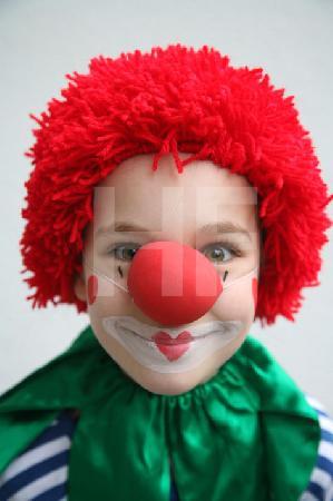 A. P. als Clown