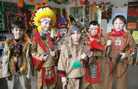 Indianer-Stamm