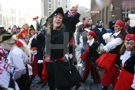 """""""Kamelle!"""", Kölner Karneval 2008"""