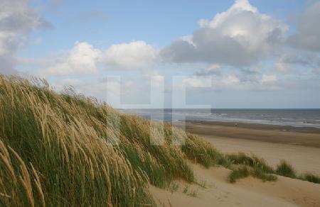 Strand von Camber Sands, England