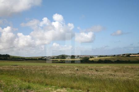 Landschaft bei Polzeath, Cornwall (2)