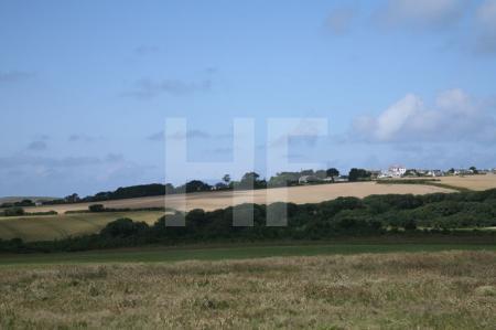 Landschaft bei Polzeath, Cornwall (3)