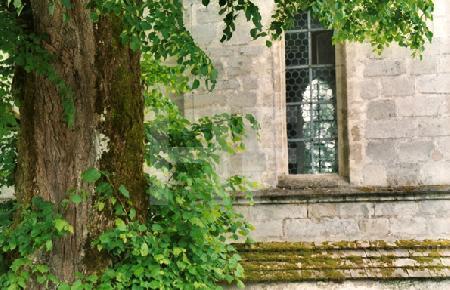 Kirchenfenster im Chiemgau, Bayern