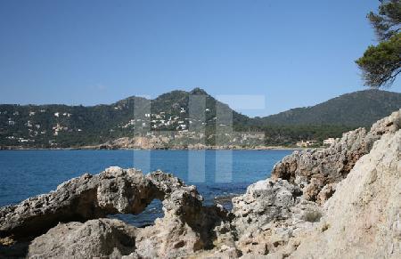 Blick in die Bucht von Canyamel, Mallorca