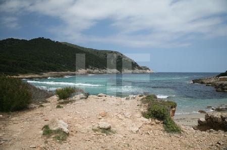 Die Bucht von Cala Agulla, Mallorca (2)