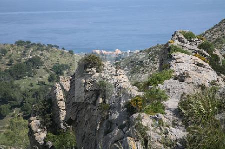 Landschaft im Nordosten Mallorcas, auf dem Weg zur Ermita de Betlém
