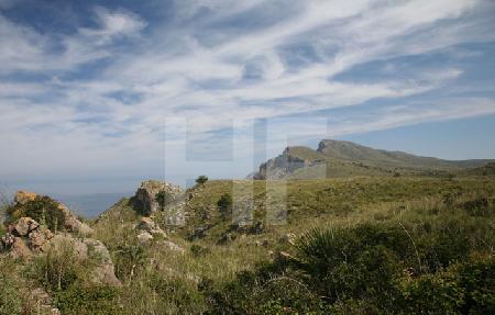 Landschaft im Nordosten Mallorcas, auf dem Weg zur Ermita de Betlém (3)