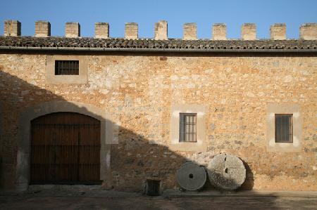 Befestigungsmauer des Torre de Canyamel, Mallorca