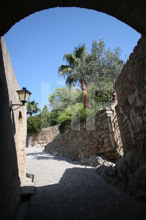 Das Tor zum Castell de Capdepera, mallorca