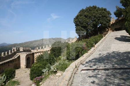 Im Castell de Capdepera, Mallorca