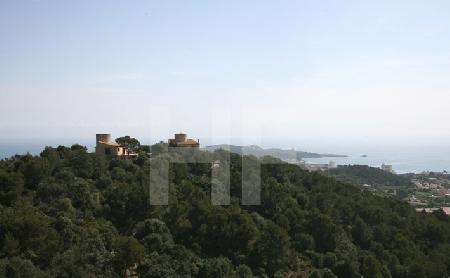 Blick von Capdepera nach Cala Rajada, Mallorca (2)