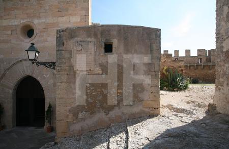 Die Kirche im Castell de Capdepera, Mallorca