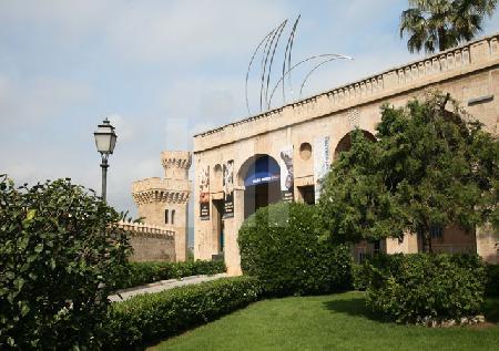 Das Museum für moderne Kunst in Palma, Mallorca