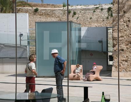 Paare im Museum Es Baluard, Palma de Mallorca