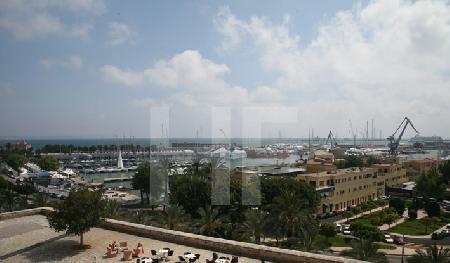 Blick vom Dach des Museum Es Baluard auf Palma de Mallorca (1)