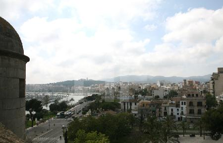 Blick vom Dach des Museum Es Baluard auf Palma de Mallorca (5)