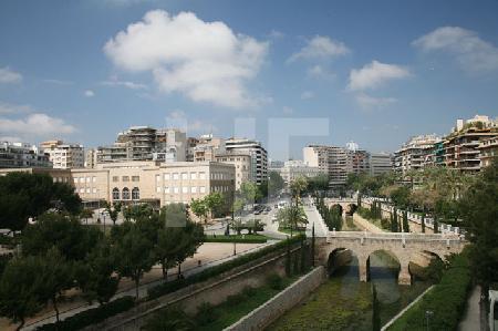 Blick vom Dach des Museum Es Baluard auf Palma de Mallorca (6)