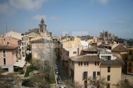 Blick vom Dach des Museum Es Baluard auf Palma de Mallorca (9)