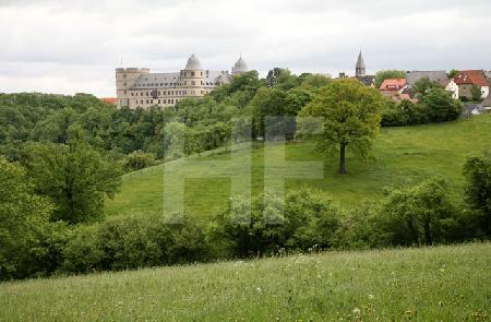 Blick auf die Wewelsburg