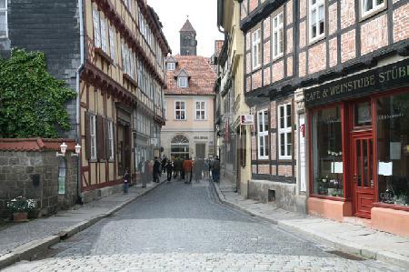 Finkenherd in der Altstadt von Quedlinburg