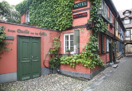 """Hotel """"Zur Hölle"""" in Quedlinburg"""
