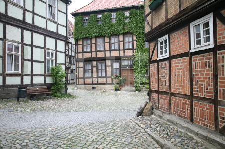 Am Schloßberg in Quedlinburg