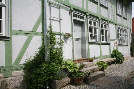 Grünes Haus am Schloßberg in Quedlinburg