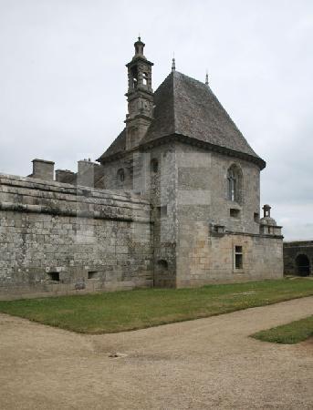 Ein Turm des Chåteau de Kerjean, Bretagne