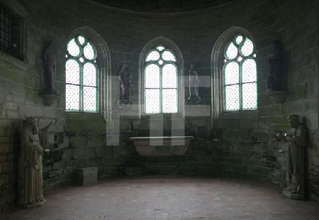Kapelle im Chåteau de Kerjean, Bretagne