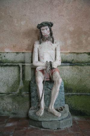 Der Leidensmann in der Kapelle des Chåteau de Kerjean, Bretagne