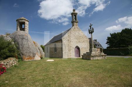 Chapelle de St. Pol im nördlichen Finistere, Bretagne
