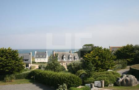 Blick vom Aussichtsturm bei der Chapelle de St. Pol, Finistere, Bretagne