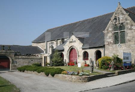 Das Museum von Le Folgoët, Bretagne