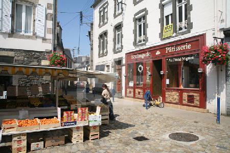 Markttag in Landerneau, Bretagne (3)