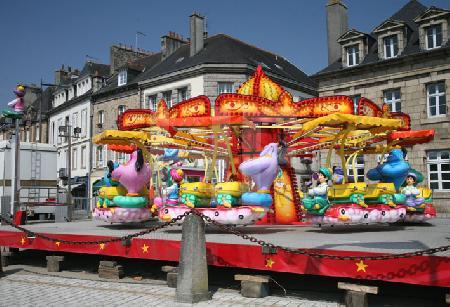 Karussell in Landerneau, Bretagne