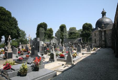Der Friedhof von La Martyre, Bretagne