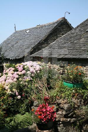 Garten am Hof von La Martyre, Bretagne