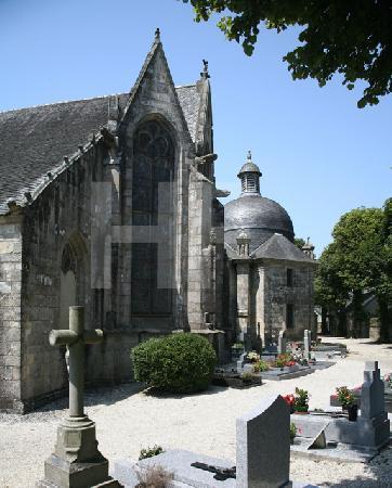 Die Kirche St. Salomon in La Martyre, Bretagne