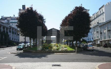 Ein Platz in Brest, Bretagne